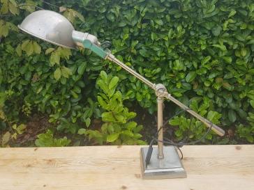 A Chrome desk lamp.. E80.00
